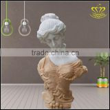 European Rome female figure sculpture marble bust Home Furnishing decoration