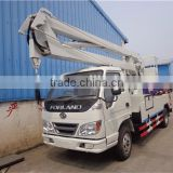 16m cherry picker, 20m tree pruning truck, truck mounted boom lifts