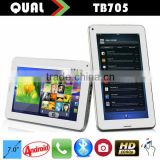 7 inch 2G phone calling tablet pc Allwinner A13 two camera 4G Flash andriod with Bluetooth Android 4.4 B