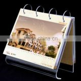 Newly Acrylic Desk Calender acrylic tabletop large display holder