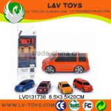 Wholesale die cast cars,metal kid car models 4 in 1