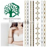 2015 new design Body Jewelry Temporary Tattoo Paper