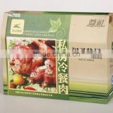 fresh fruit corrugated box packaging Custom Made Colored Corrugated Carton Boxes Display Box Fruits Box Packaging
