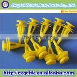 Hot !! China plastic body clips/Wholesale plastic car auto clip/retaining fastener clips