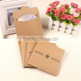 Custom Paper CD Packaging Carboard CD Sleeve Promotion CD Bag