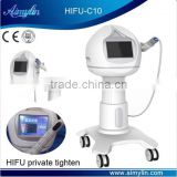 HIFU Noninvasive surgery device for women virginity tightening