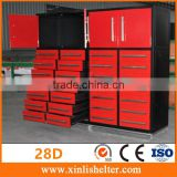 Heavy Duty 28 Drawers Steel Work Bench