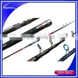 High Carbon IM8 tele surf fishing rod