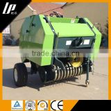 mini round hay baler machine with mini tractor price / hay and straw press machine / vertical baler