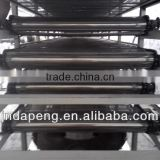 3 layers/5 layers/ 7 layers mesh belt dryer/oven/fish feed pellet fryer/conveyor mash belt dryer/oven