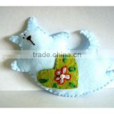 Hot sell Felt Cat Tilda Cat Ornament made in China