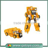 2016 Kids excavator trans robot toy car for sales