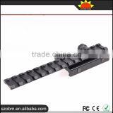Y0032-D 150mm Tactical Gun Mount Rail Weaver Adaptor For Flashlight scopes Mount