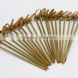 Factory Direct disposableNnatural bamboo skewer,bamboo sticks for Bar,Home use