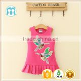Girls dress names with pictures Pakistan Summer children frocks designs girls party dresses Pink baby dress fish cutting clothes