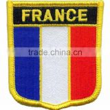France-Flag-Patch Customize Machine Embroidered Badge