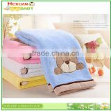 High quality 100% polyester coral fleece knitted baby blanket