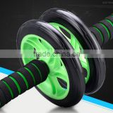 -Best Abdominal Rollout Exercise Equipment Dual Wheel Ab Roller with Anti Slip Foam Grips Double Wheels
