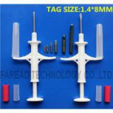 Animal Microchip Injector 1.4*8mm syringe for pet identification