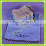 100% bamboo fiber embroidery face towels