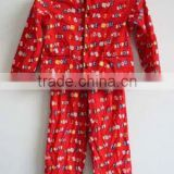 flannel fabric pajamas of baby