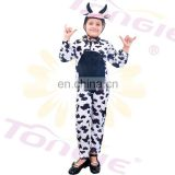 Wholesale animal cosplay custumes for kid cow mascot costume for carnival