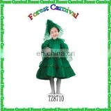 TZ8710 Popular Merry Christmas Tree Dress Costumes For Girls