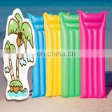 inflatable matte finish lilo lounger swimming pool air mat bed