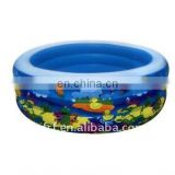 Inflatable attractive swimming pool