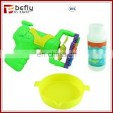 hot electric plastic toy bubble blower gun