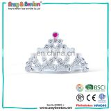 Wholesale birthday party toys queen crown cheap tiara for kids