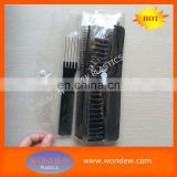 Professional salon 10pcs hair combs set packing in folding PVC bag