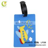 Promotional custom luggage tag/ pvc luggage tag/rubber luggage tag