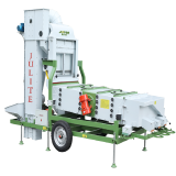 Farm machine grain/seed cleaner
