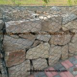 Galvanized and PVC coated Gabion Wire Mesh for River Protection