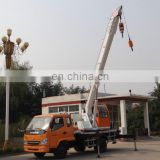 small China 4wd fuel consumption of hydraulic cranes