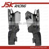 FOR R8 CARBON ENGINE PANELS CARBON FIBER ENGINE BAY PANELS (2 PCS)FOR AUDI R8 V8 V10 MODEL