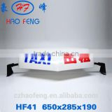HF41 led dome light taxi top advertising light box car roof advertising box