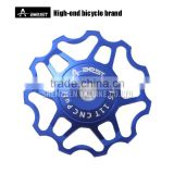 Light weight CNC bike parts, AEST bicycle spare parts pulley, Rear deraileur guide wheels