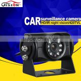 gision digital color ccd ir d&n waterproof outdoor camera motion detection car camera