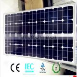 Customized Size As Ur Request of CE IEC TUV 120W Mono Crystalline High efficiency Panel Solar
