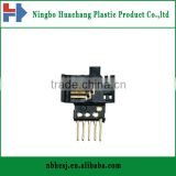 micro plastic parts/overmolding plastic parts for electronic