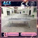 Aluminum mobile concert stage design, outdoor portable stage for sale