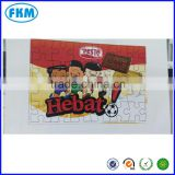 paper Material and Cartoon Toy Educational Toy Style Blank square sublimation jigsaw puzzle