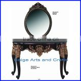 Classic Hotel Hall Console Table with Mirror s-1670