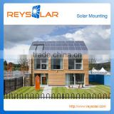 PV Mounting Brackets/ 500kw Tile Slanted Roof Solar Power System Solar Module Racking Brackets Roof Brackets