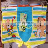 0.4USD Factory Wholesale Cheap Boys Cartoon Underwear Child Cotton Panty/Kids Boxers (kcnk168)
