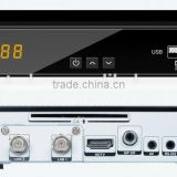 dvb s2 s1010 twin tuner decoder receiver with pvr/wifi/ca/internet s1010 satellite receiver