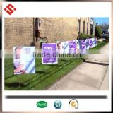"4""*8"" Sign board full color print coroplast pp sheet plastic sheet made in china online shoping for USA                                                                                                         Supplier's Choice"