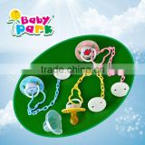 wholesale baby pacifier clip with chain